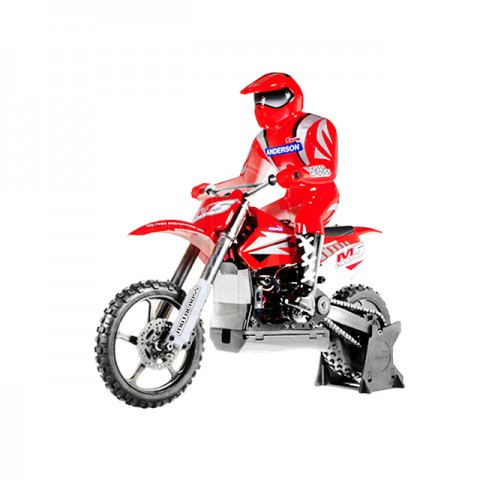Anderson Racing M5 RTR Motocross Bike with Transmitter (Red) - ANM1202RTR