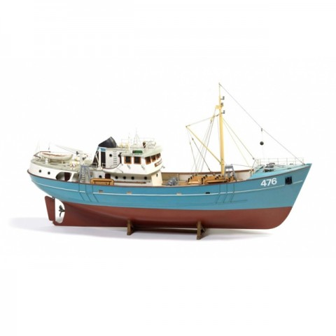 Billing Boats BB476 1/50 Scale Nordkap Trawler Model Boat (Unassembled Kit) - 428330