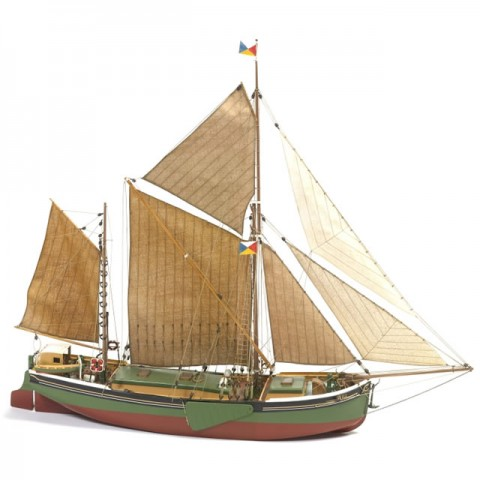 Billing Boats BB601 1/67 Scale Will Everard Bark Model Boat (Unassembled Kit) - 428352