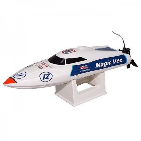 Joysway Magic Vee V5 RC Boat with 2.4GHz Radio System (Ready-to-Run) - JOY8106V5