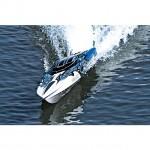 Traxxas Spartan 36inch VXL Brushless TSM Boat with TQi Radio System (Blue-X) - TRX57076-4BLUEX