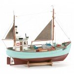 Billing Boats BB603 1/30 Scale Norden Model Boat (Unassembled Kit) - 428353