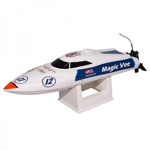 Joysway Magic Vee V5 RC Boat with 2.4GHz Radio System (Ready-to-Run) - JOY8106V5