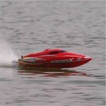 Joysway Super Mono X Brushless Boat with 2.4GHz Radio System (Ready-to-Run) - JOY8209