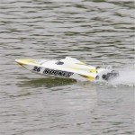 Joysway Rocket Brushless RC Boat with 2.4GHz Radio System (ARTR) - JOY8651