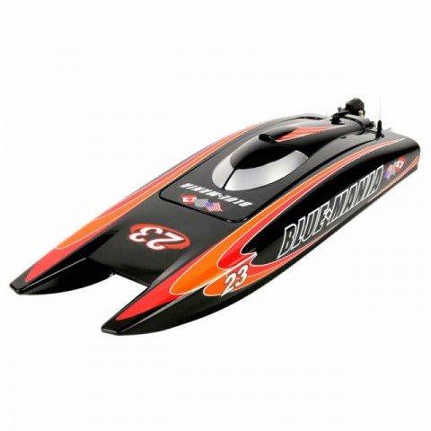 Joysway Blue Mania V2 Brushless RC Boat with 2.4GHz Radio System (Almost-Ready-to-Run) - JOY8652V2