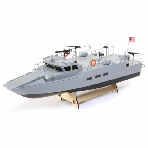 """ProBoat Riverine Patrol 22"""" Scale Boat with 2.4GHz Radio and LED Light System - PRB08035"""