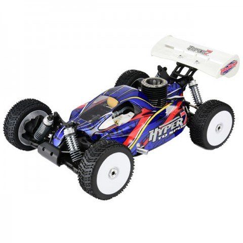 HoBao Hyper 7 TQ2 1/8th Off-Road Turbo Mac 28 Nitro Buggy - HBM7-TQF28BU