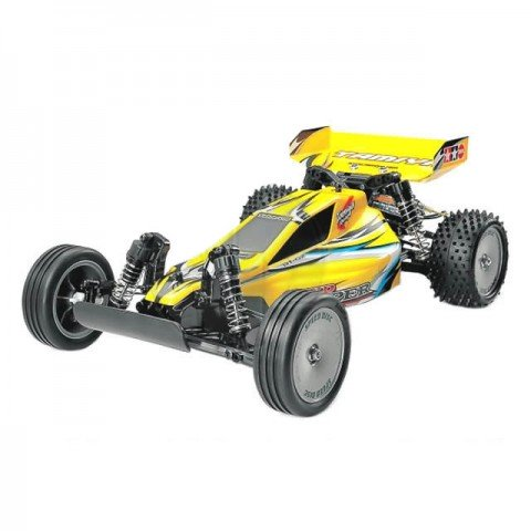 Tamiya Sand Viper DT-02 Tuned RC Buggy with Motor and ESC (Unassembled Kit) - TAM-58374