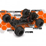 HPI E-Firestorm 10T Flux 1/10th Scale 2WD Electric Truck - 112878