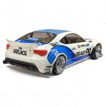 HPI RS4 Sport 3 Waterproof RC Car with Subaru BRZ Body (Ready-to-Run) - 114356