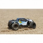 ECX Ruckus 1/24 RTR 4WD Micro Monster Truck with 2.4GHz Transmitter (Black) - ECX00013T1