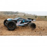 Losi TEN-MT 1/10 4WD Brushless Monster Truck with AVC Technology (Black/Blue) - LOS03006T1