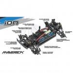 Maverick Ion SC 1/18 Electric RC Short Course Truck (Ready-to-Run) - MV12810