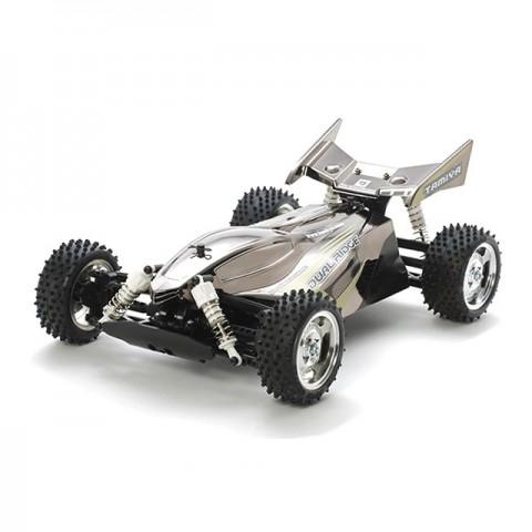Tamiya Dual Ridge Black Metallic Body TT-02B 1/10 Buggy (Unassembled Kit) - 47355