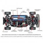 Tamiya Honda NSX 2016 1/10 TT-02 with ESC and Motor (Unassembled Kit) - 58634