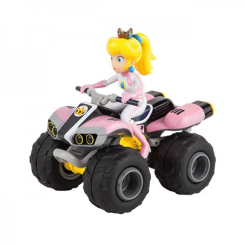 Carrera Nintendo Mario Kart 8 RC Quad Bike with Controller (Peaches) - CA200999
