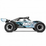 Losi Desert Buggy XL-E 1/5 4WD Electric Buggy with AVC 2.4GHz Radio System (Grey) - LOS05012T2