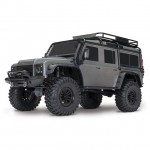 Traxxas TRX-4 1/10 Land Rover Defender Rock Crawler with TQi Radio System (Grey) - TRX82056-4G