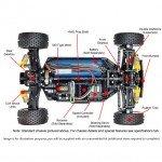 Tamiya Neo Scorcher 4WD 1/10 Scale Buggy TT-02B (Unassembled Kit) - 58568