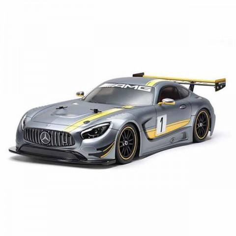 Tamiya R/C 1/10 Mercedes AMG SLS GT3 TT-02 with ESC and Motor (Unassembled Kit) - 58639