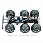 Tamiya 1/18 Konghead 6x6 G6-01 Monster Truck (unassembled Kit) - 58646