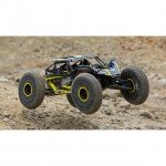 Losi Rock Rey 1/10 4WD Electric Rock Racer with 2.4GHz Radio and AVC (Yellow) - LOS03009T1