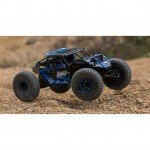 Losi Rock Rey 1/10 4WD Electric Rock Racer with 2.4GHz Radio and AVC (Blue) - LOS03009T2