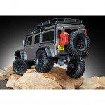 Traxxas TRX-4 1/10 Land Rover Defender Rock Crawler with TQi Radio System (Grey) - TRX82056-4G