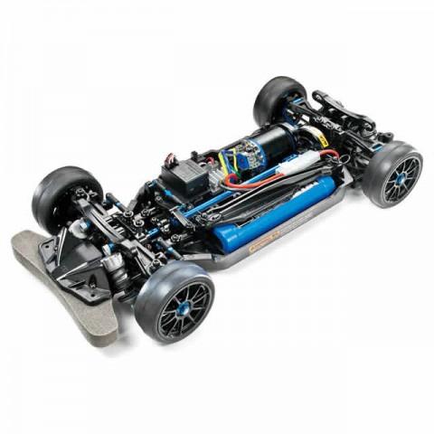 Tamiya Limited Edition 1/10 4WD TT-02R Chassis (Unassembled Kit) - 47326