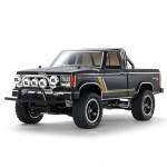 Tamiya 1/10 Land Freeder Painted Matte Black Special Edition CC-01 Truck (Unassembled Kit) - 47361