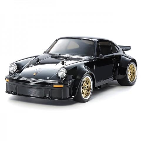 Tamiya 1/10 RC Porsche Turbo RSR 934 TA02SW Limited Black Edition (Unassembled Kit) - 47362