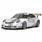 Tamiya Porsche 911 GT3 Cup 2008 4WD TT-01 RC Car (Unassembled Kit) - 47429