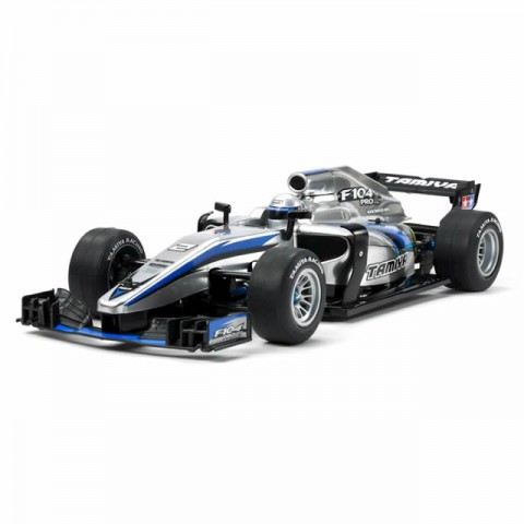 Tamiya 1/10 Formula F104 PRO II with Bodyshell RC Car (unassembled Kit) - 58652