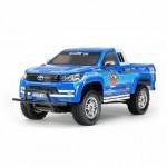 Tamiya 1/10 Toyota Hilux Extra Cab CC-01 RC Truck (Unassembled Kit) - 58663