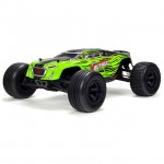 Arrma Fazon Voltage 1/10 2WD Brushed Mega Truck Ready-To-Run (Green/Black) - AR102675EU