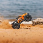 Arrma 1/10 Granite 3S BLX 4WD Brushless Monster Truck with Spektrum Transmitter (Orange/Black) - ARA102720T1