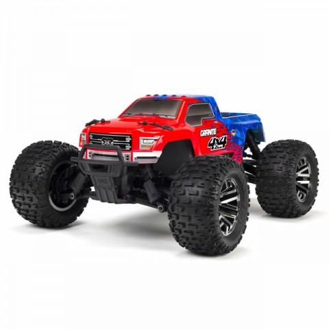 Arrma 1/10 Granite 3S BLX 4WD Brushless Monster Truck with Spektrum Transmitter (Red/Blue) - ARA102720T2