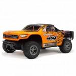 Arrma Senton 4x4 3S BLX 1/10 Brushless Short Course Truck (Orange/Black) - ARA102721T2