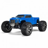 Arrma 1/10 Big Rock Crew Cab 3S BLX 4WD Brushless Monster Truck (Blue) - ARA102723