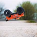 Arrma Outcast 6S BLX Brushless Stunt Monster Truck (Orange) - ARA106042T2
