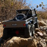 Axial SCX10 II UMG10 6x6 1/10th Scale Rock Crawler with STX2 Radio System - AXI03002