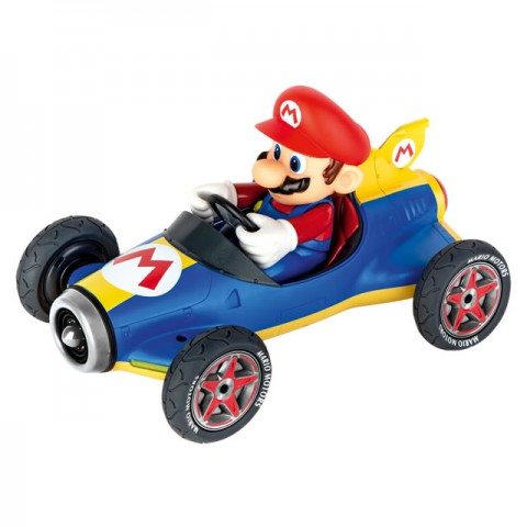 Carrera RC Mario Kart (TM) Mach 8 RC Car with 2.4Ghz Radio System (Ready-to-Run) - CA181066