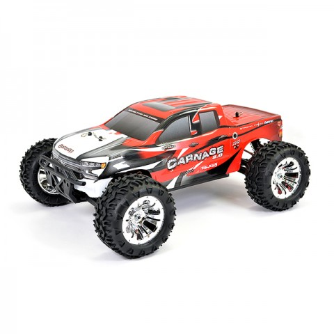 FTX Carnage 2.0 1/10 Brushed RC Truggy Truck 4WD (Red) - FTX5537R