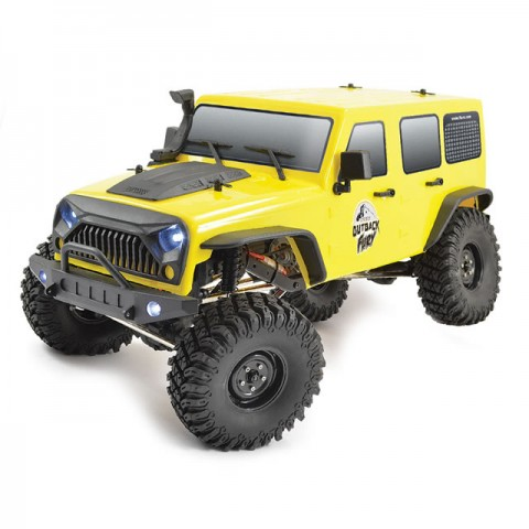 FTX 1/10 Outback Fury 4x4 Trail Crawler with 2.4Ghz Radio System (Ready-to-Run) - FTX5579