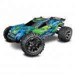 Traxxas Rustler 4X4 VXL Brushless 1/10 4WD Stadium Truck with 2.4GHz TQi Transmitter (Green) - TRX67076-4GN