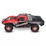 Traxxas Slash 4X4 VXL Brushless 1/10 4WD Short Course Truck with TQi Radio System (Mark Jenkins) - TRX68086-4MARK