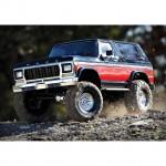 Traxxas TRX-4 1/10 Trail Crawler Truck with Ford Bronco Ranger XLT Body (Red) - TRX82046-4R
