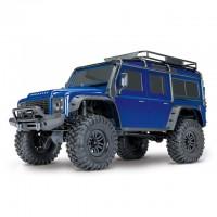 Traxxas TRX-4 1/10 Land Rover Defender Rock Crawler with TQi Radio System (Blue) - TRX82056-4BL