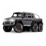 Traxxas TRX-6 Mercedes-Benz G63 AMG 1/10 6x6 Trail Crawler Truck (Silver) - TRX88096-4SLV